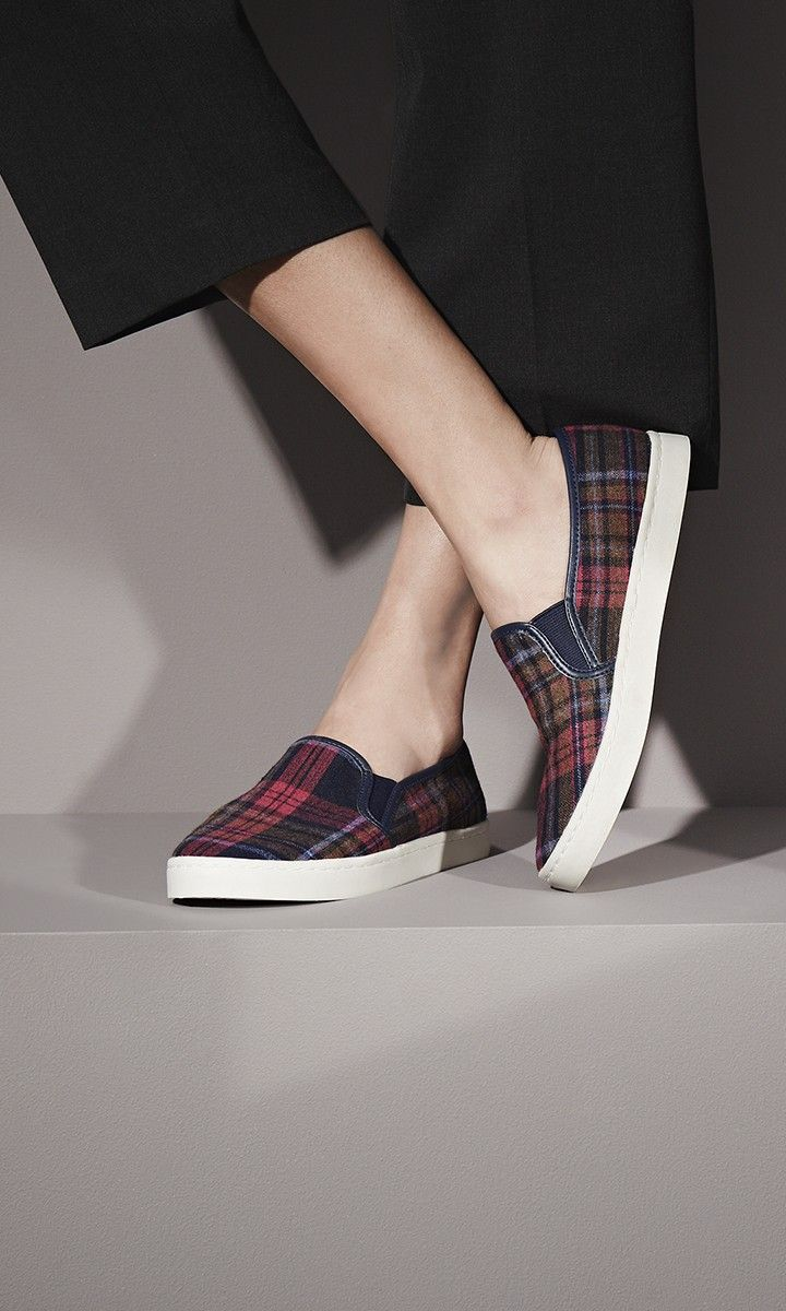 Liven up your everyday style in a slip-on sneaker that features two elastic gores for all-day comfort. @Nordstrom