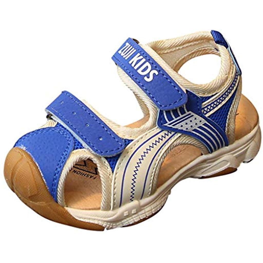 b0e0645cd60bd Sunbona Toddler Baby Boys Girls Beach Sandals Infant Kids Summer ...