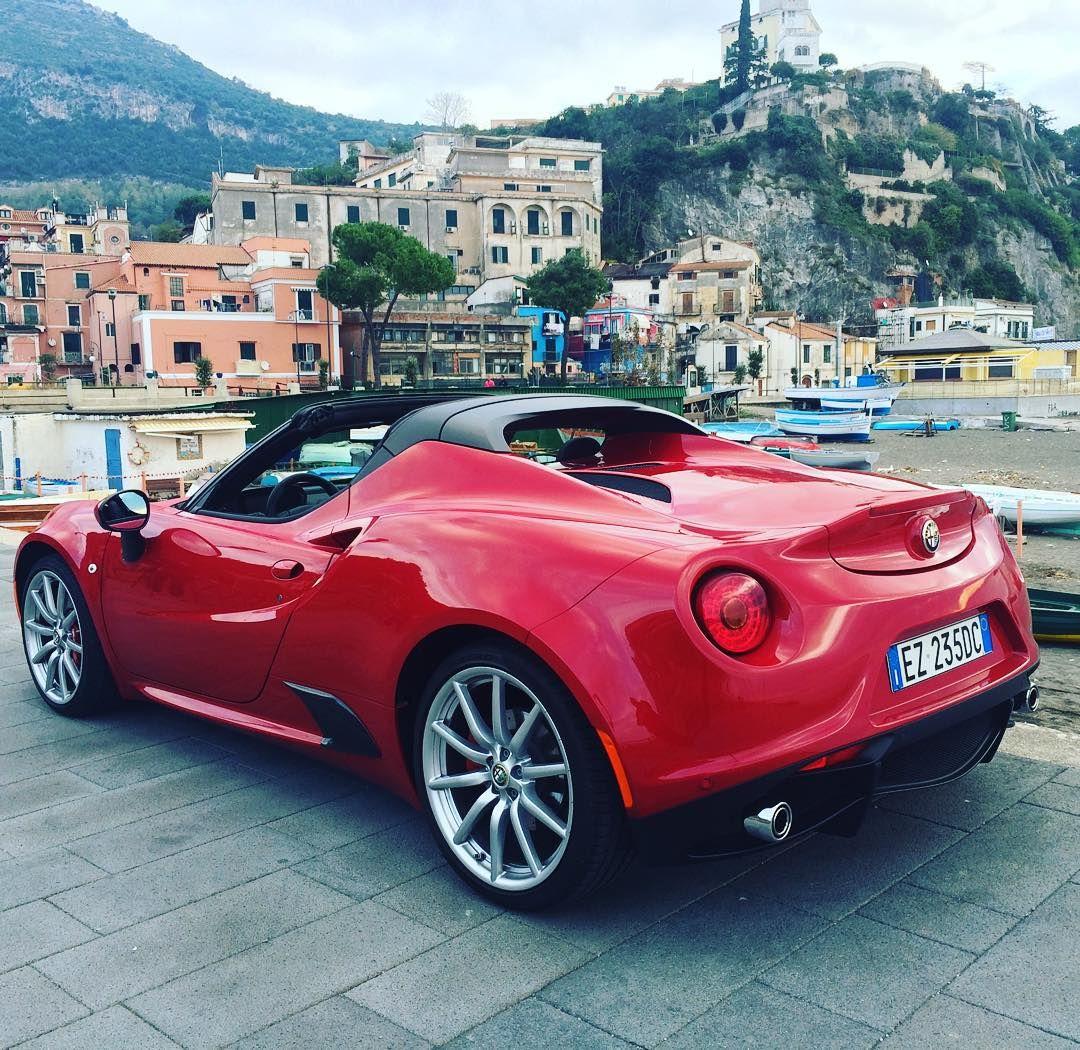 Alfa Romeo 4C Spider #alfaromeo #alfa #alfaromeo4c