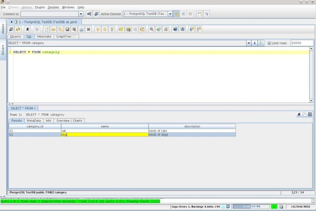 Netezza Query Tool Introduction Features And Screenshot Sql