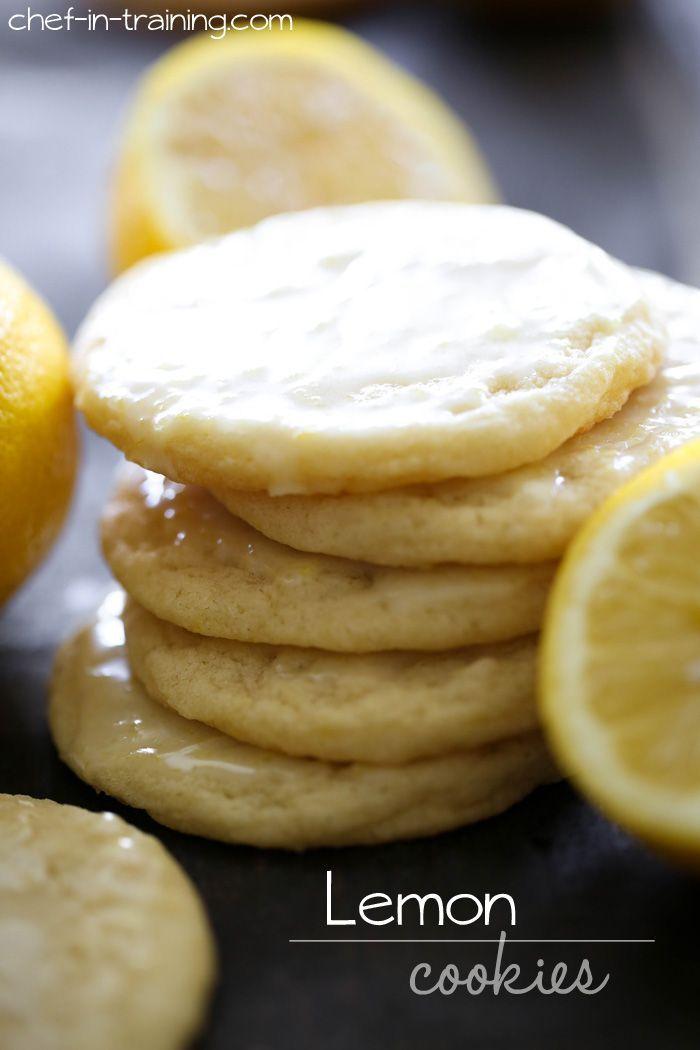 Lemon Cookies   - Food - Cookies , Cakes & Treats -