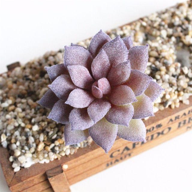 1 Pc Artificielle Succulentes Cactus Plantes Pour Jardin Decor
