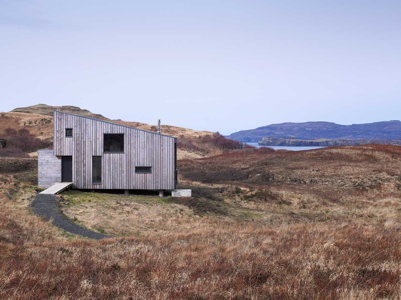 "the ""hen house"" on scotland's isle of skyerural design"