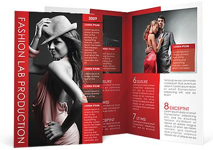 Fashion Brochure Template Brochures Brochure Template And Template