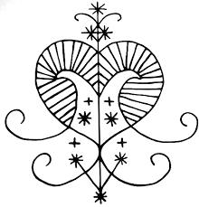 santeria symbols - Google Search | Graphics | Erzulie freda