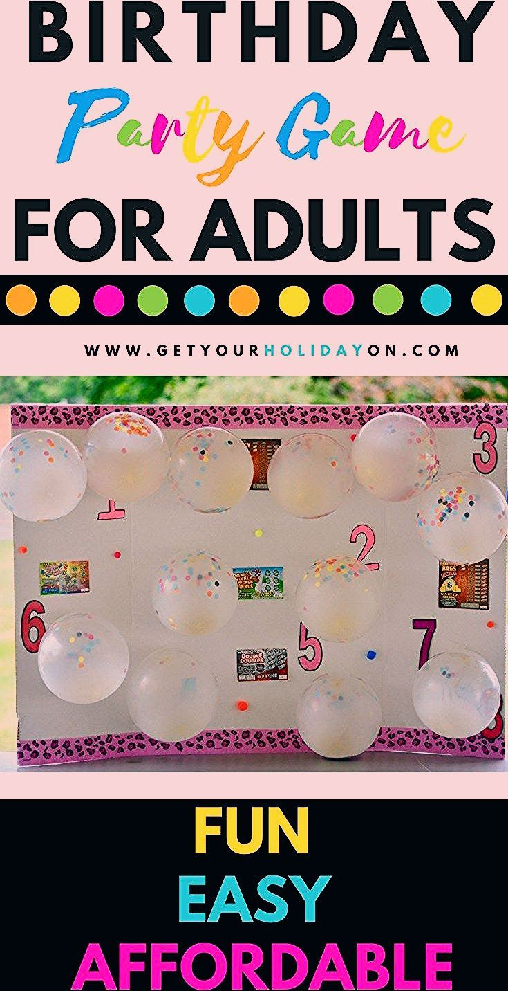 Photo of Simple DIY Party Game For Adults • Get Your Holiday On