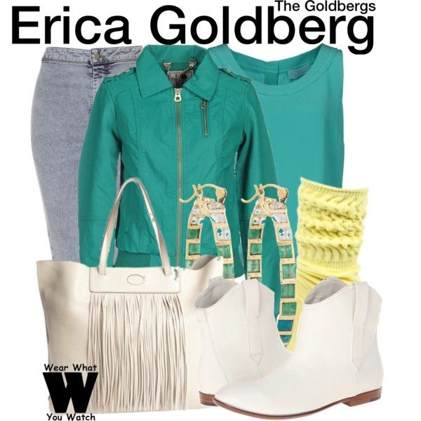 Inspired by Hayley Orrantia as Erica Goldberg on The Goldbergs.