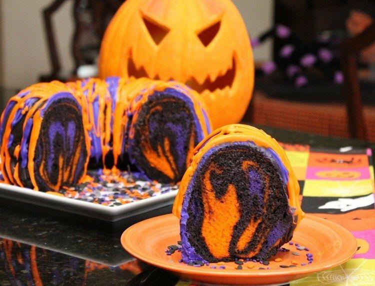 Halloween kuchen mit bild