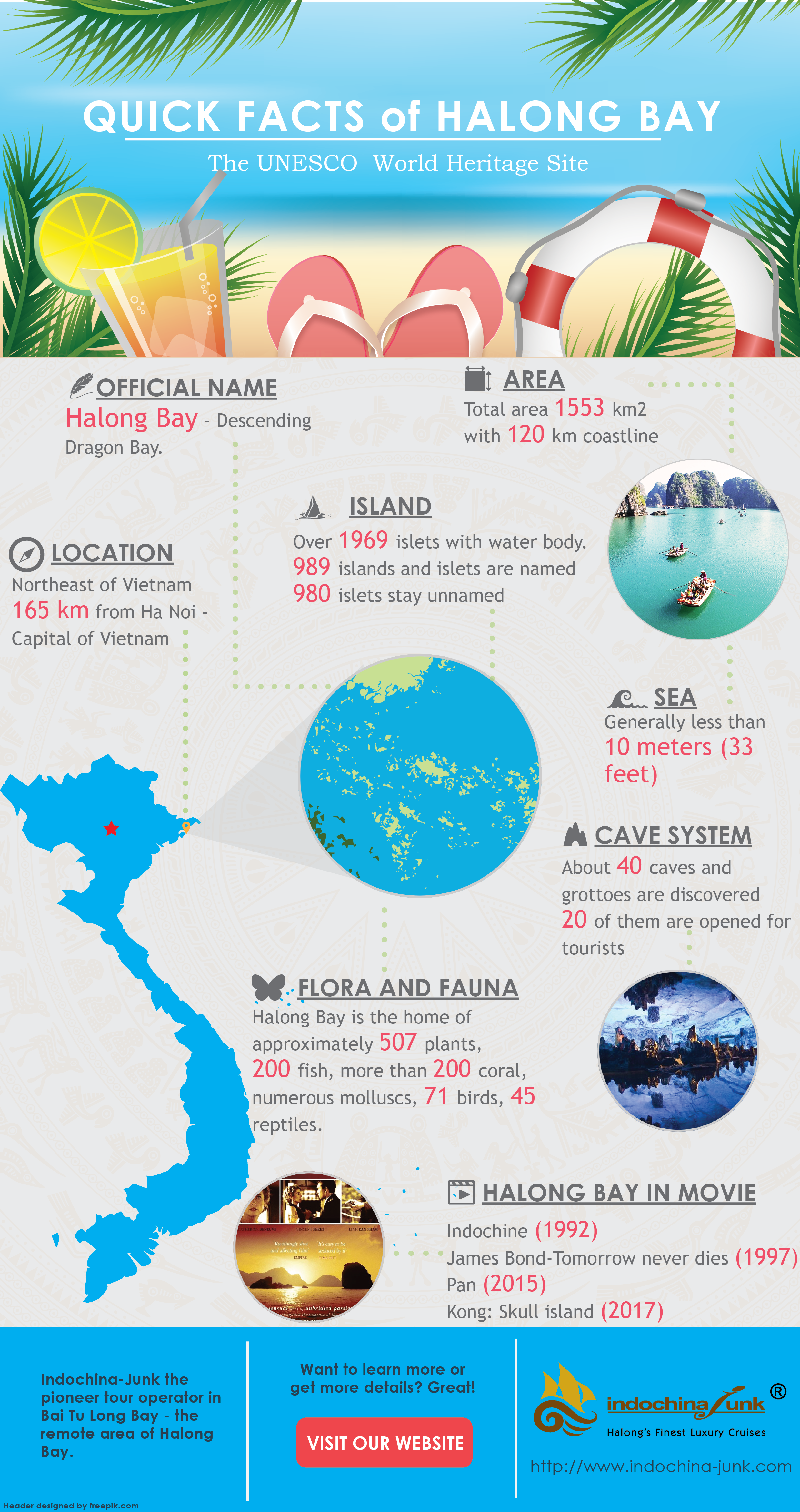 Infographic Some Interesting Facts About Halong Bay The World Unesco Heritage Site Travel Infographic Travel Facts Fun Facts
