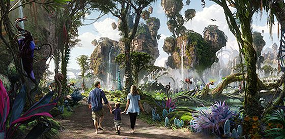 Disney's Animal Kingdom Park expansion, scheduled for opening in 2017! Avatar with Pandora. Disney is always planning exciting and innovative things for the future.