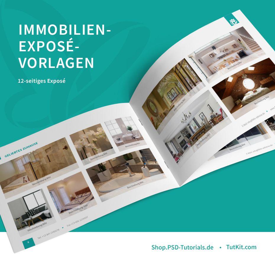 Expose Vorlagen Fur Immobilien Hauser Wohnungen Zum Download 4