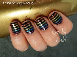 15 Nail Tape Manicures | You Put It On