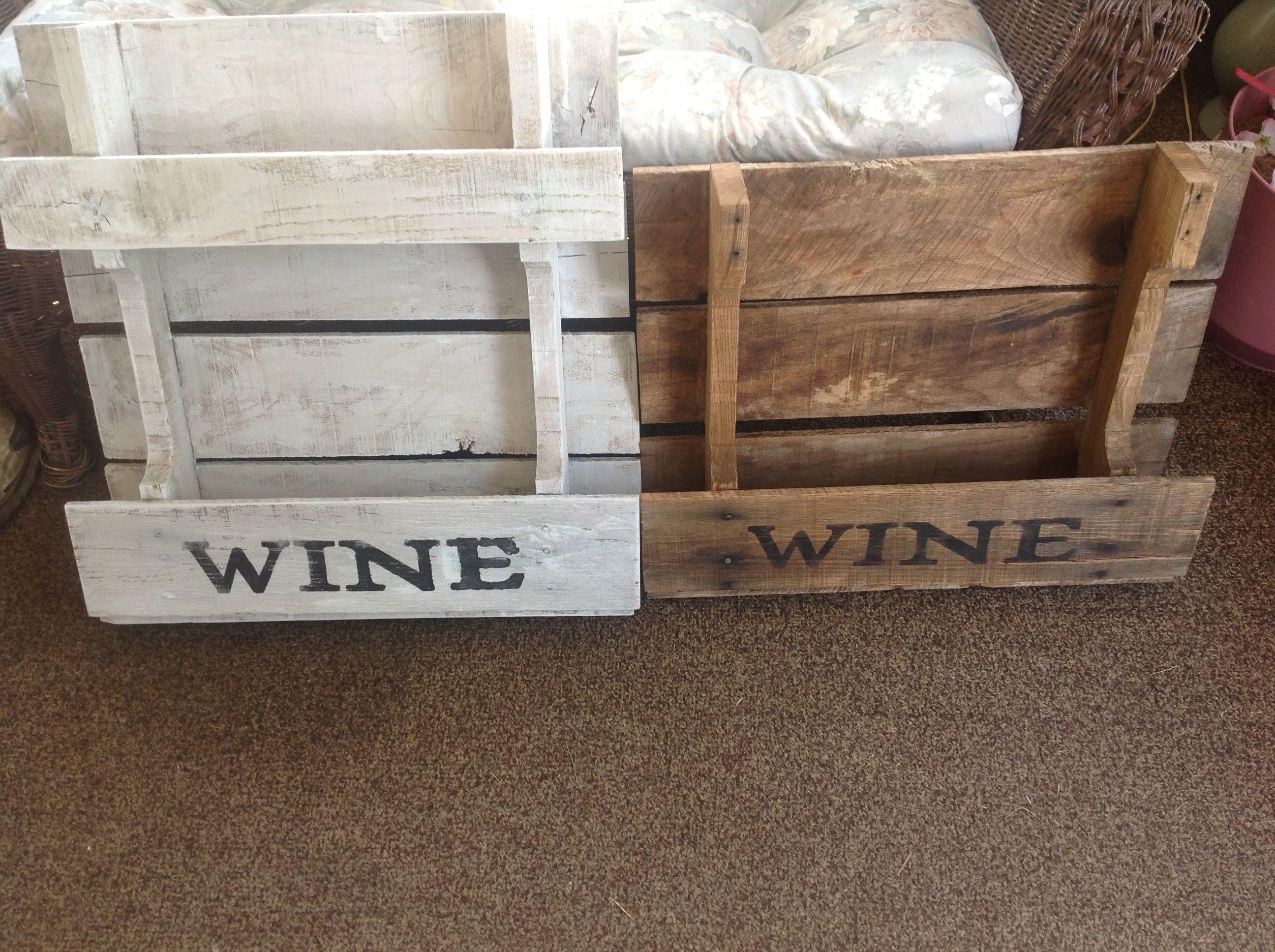 Pallet Paint Stain And Stencil Nice Wine Rack Pallet