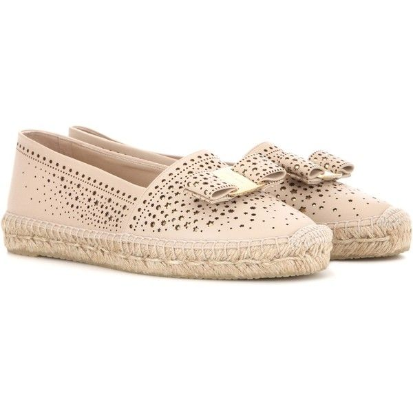 Salvatore Ferragamo Embroidered Espadrille Flats pay with paypal sale online outlet for cheap sale official site amazing price cheap online discount fast delivery GB7Ls