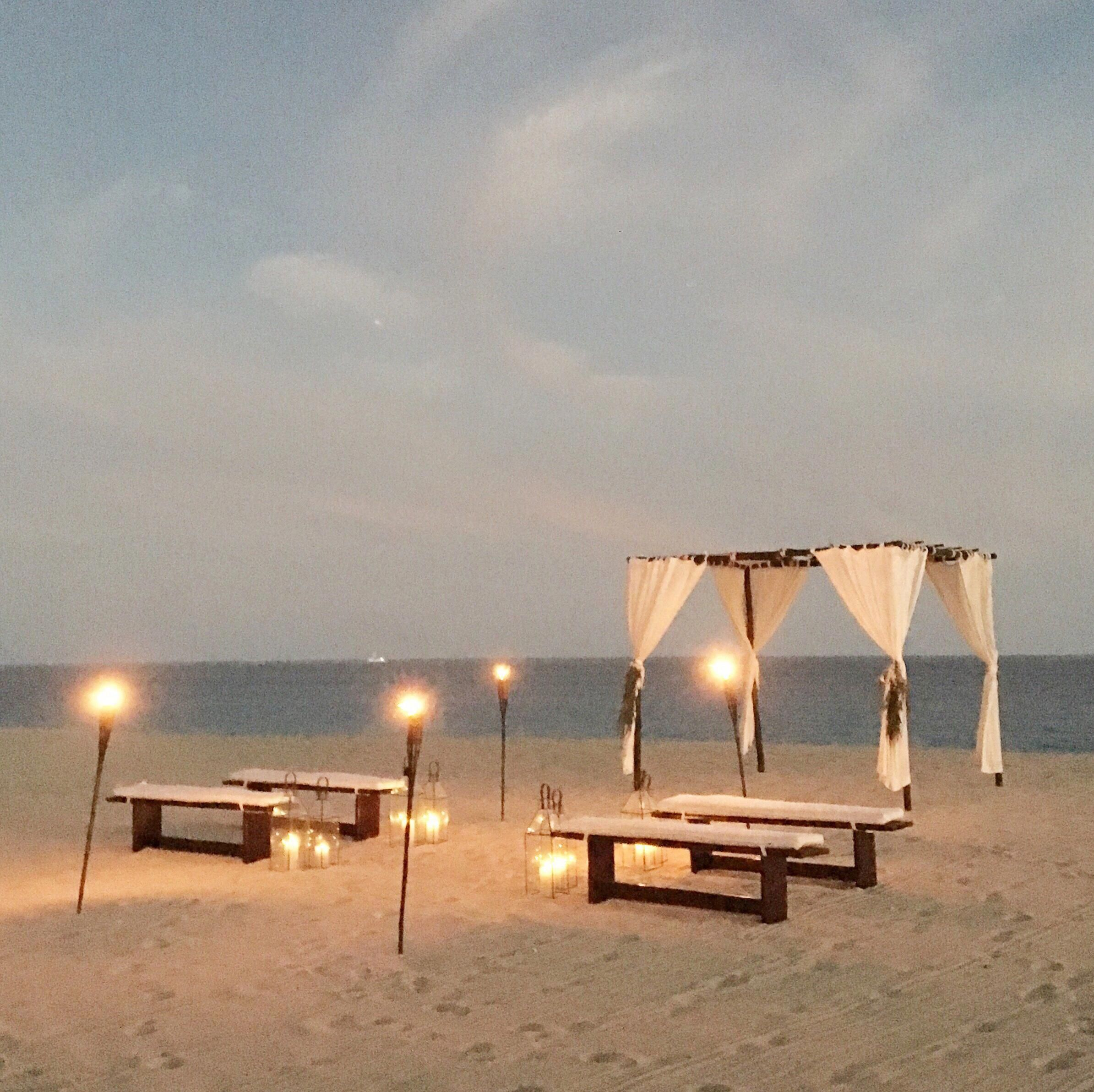 Small Ceremony Big Reception Invitations: Perfectly Intimate Beach Wedding Ceremony In Mexico