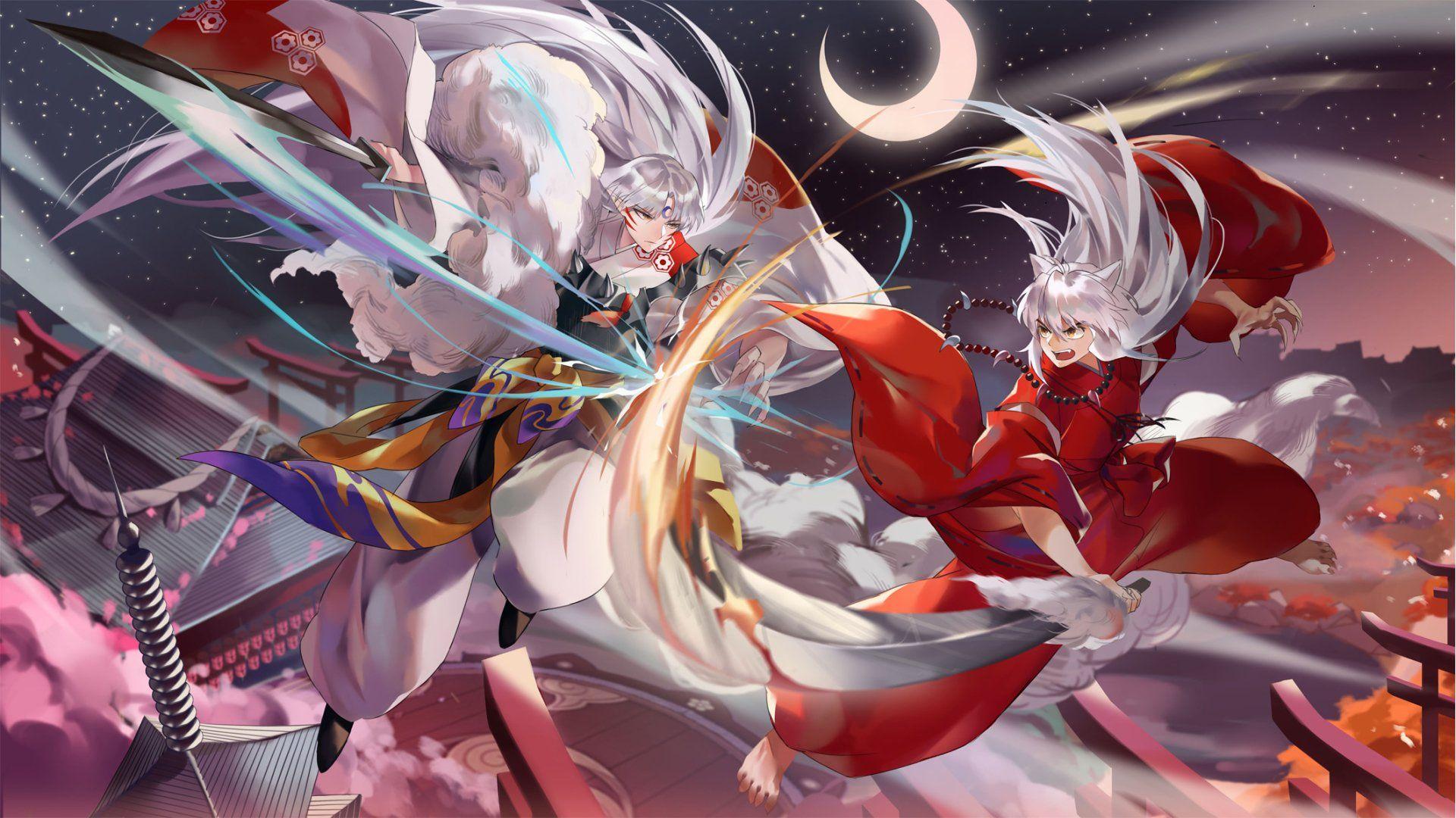 Anime InuYasha InuYasha (Character) Sesshōmaru (InuYasha