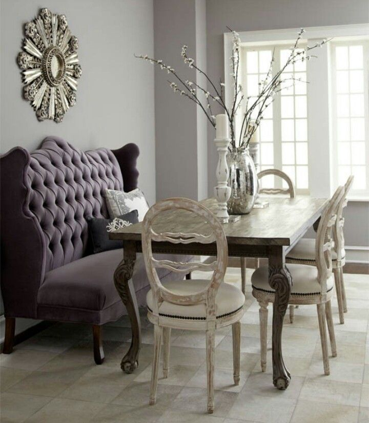 Captivating New Style And Comfort To Your House With Dining Banquette: Dining Room  Ideas With Dining Banquette And Dining Chairs Also Dining Table With Settee  Bench ...