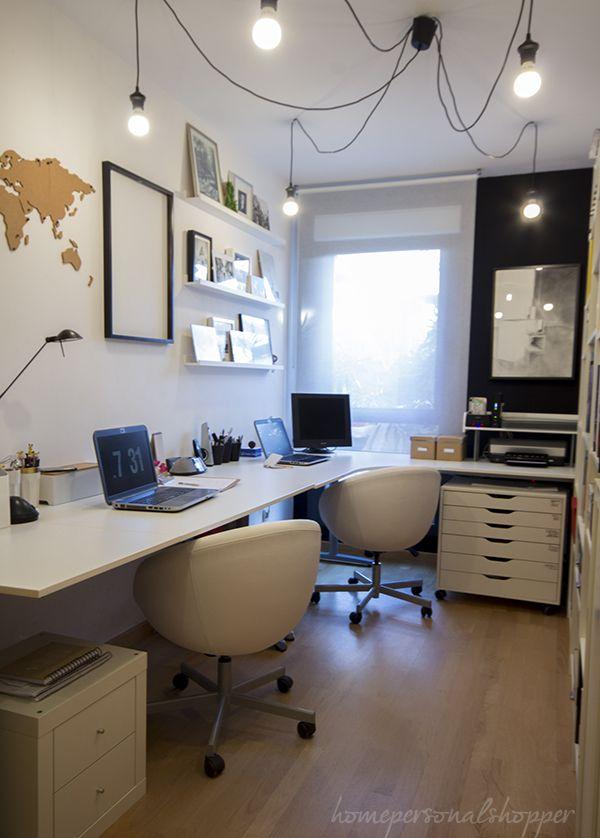 Despacho en casa trabajo en casa espacios de trabajo - Despacho en casa ...
