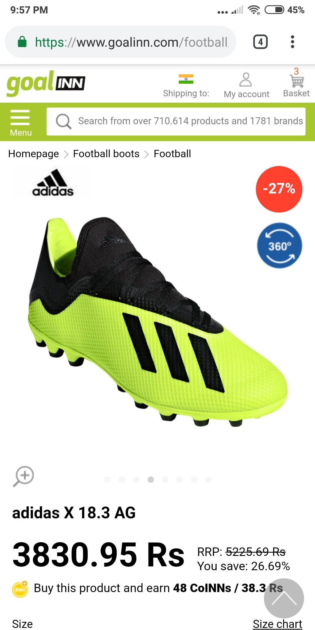 adidas Tango Training Black buy and offers on Goalinn