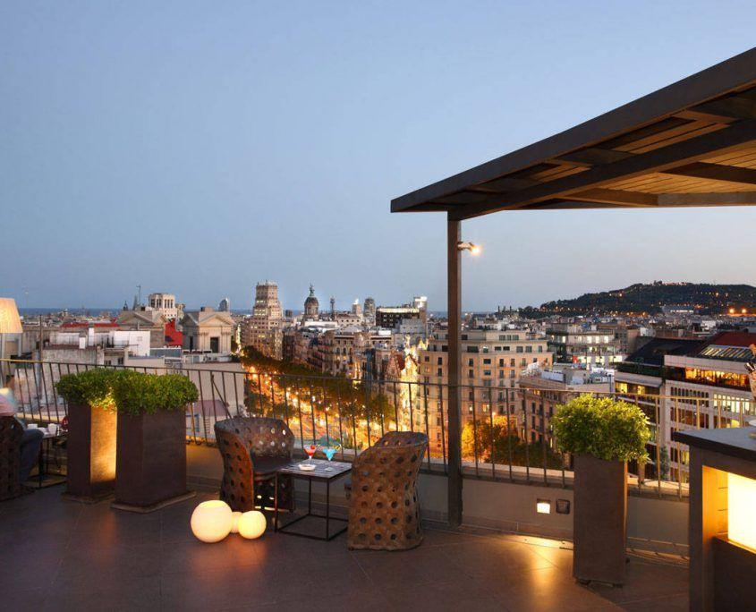 Iluminación Terraza Y Solarium Hotel Majestic Iluminación