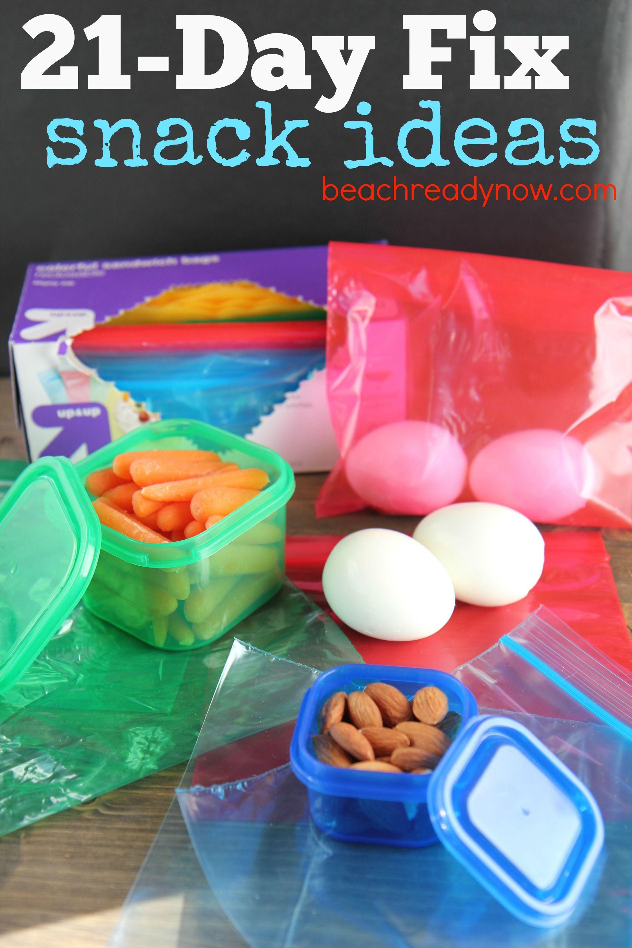 21 day fix recipe ideas   21-Day Fix Snack Ideas #21DayFix #BeachReadyNow #Fitness