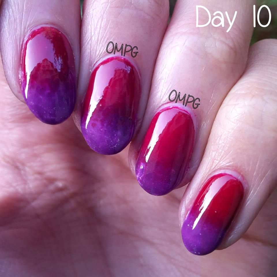 Gradient for #ompg31dc.. I do NOT like this one. My liquid tape ...