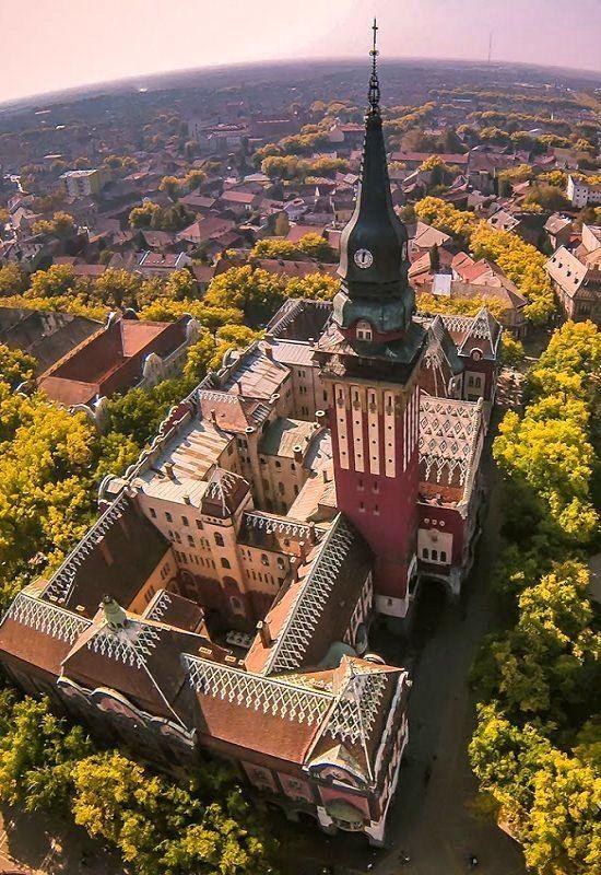 Gradska kuca (Town Hall) of Subotica, Vojvodina, Serbia