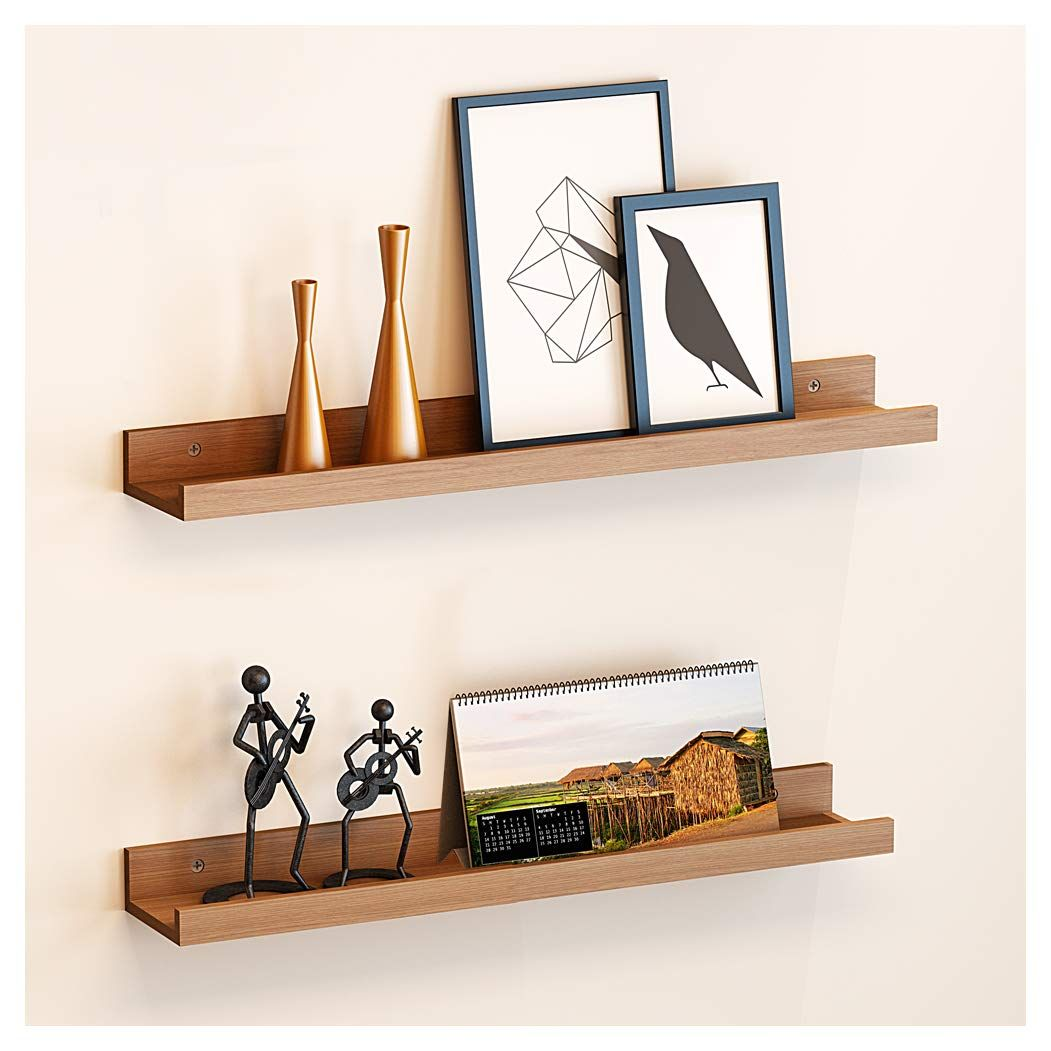 Wudenhom Floating Shelves Picture Bookshelf In 2020 Floating Shelves Wall Hanging Bookshelf Hanging Bookshelves