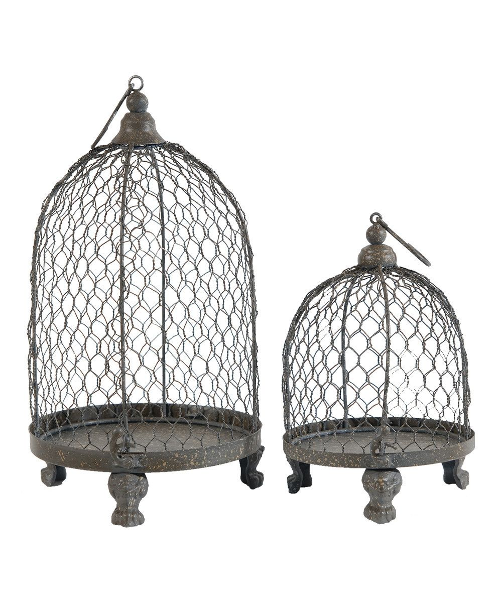 Look at this Metal Wire Dome Stand Set on #zulily today!