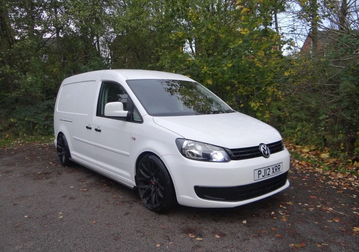 2012 vw caddy maxi 102ps diesel kw coilovers. Black Bedroom Furniture Sets. Home Design Ideas
