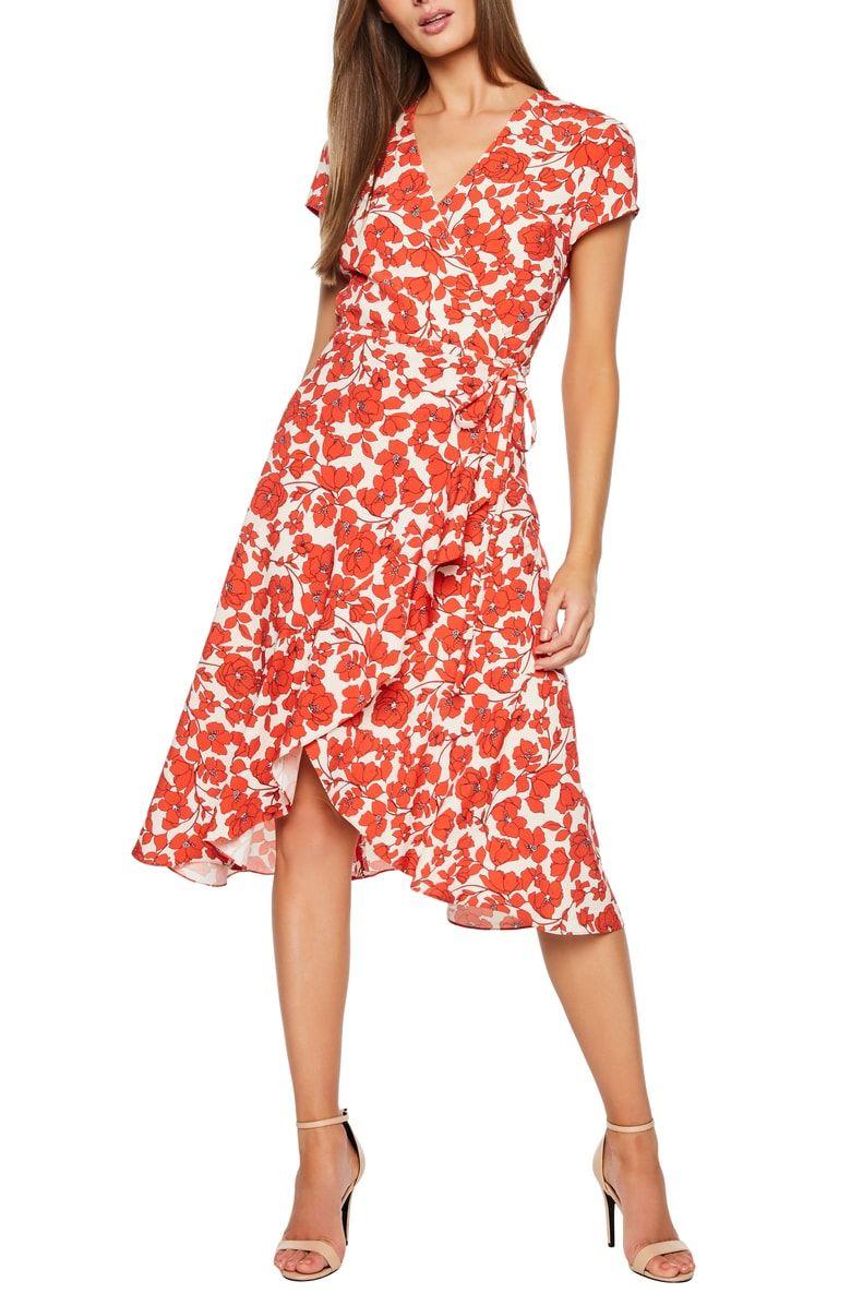 565b9bb22c806 Free shipping and returns on Bardot Fiesta Floral Midi Dress at ...
