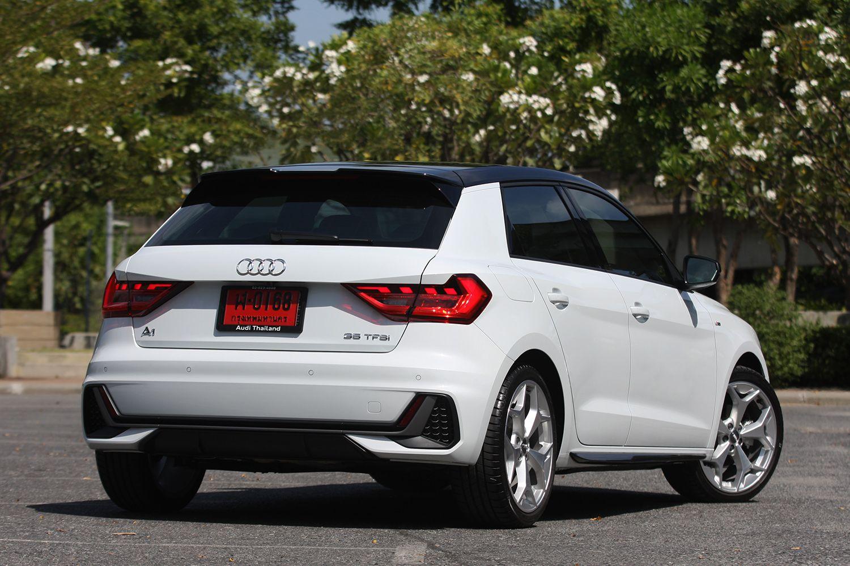 Audi A1 Sportback 35 TFSI SLine (2019) review Audi a1