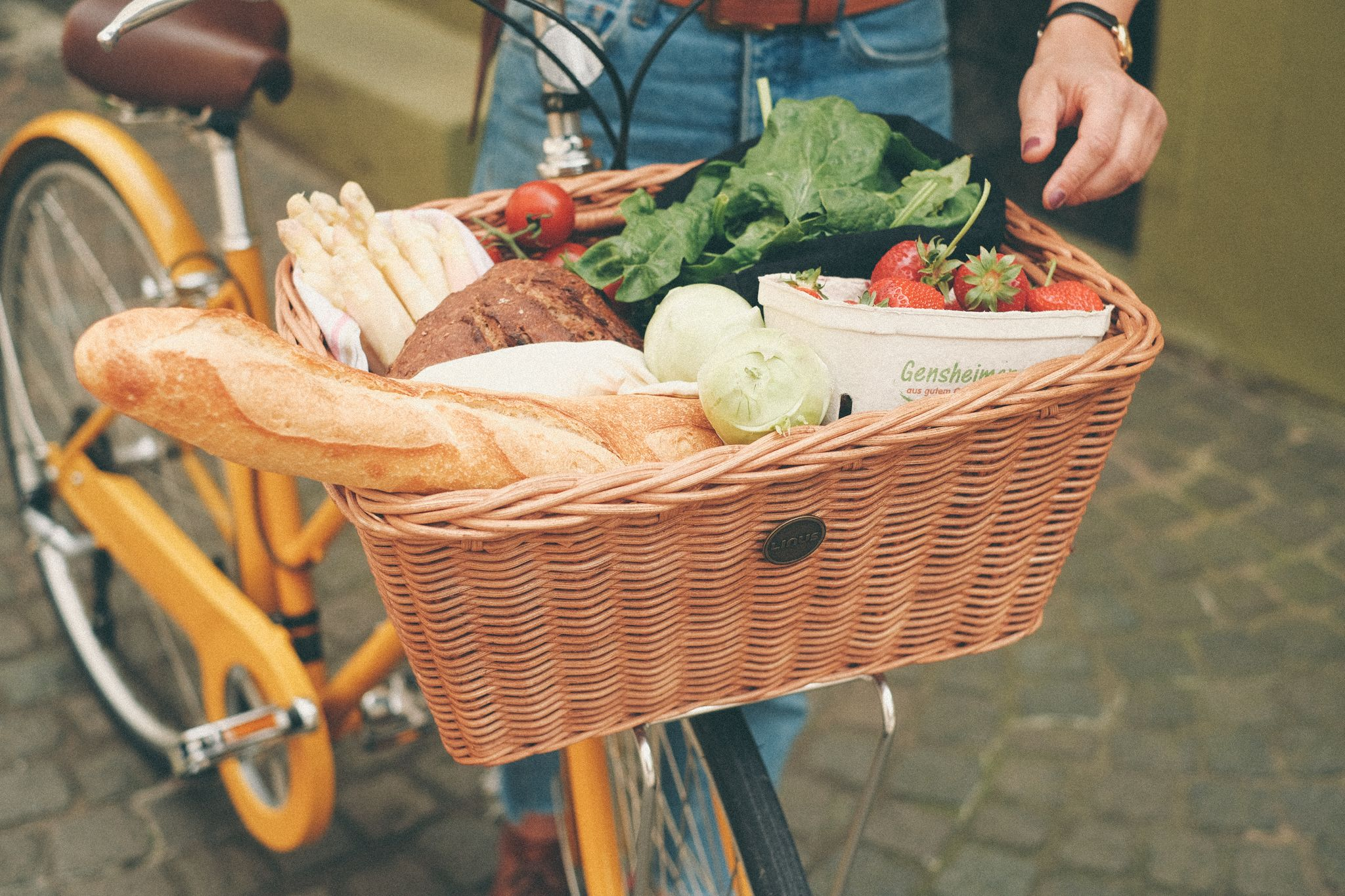 It S Called The Farmer S Basket For A Reason Bikebasket