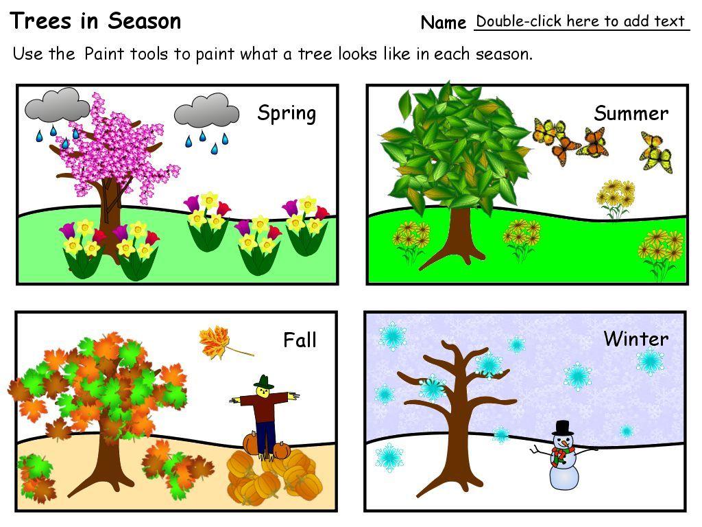 Trees In Season 1 024 768 Pixels