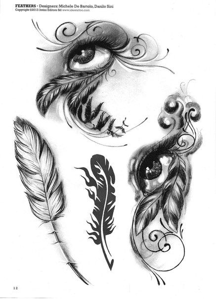 Pin by Amygibson Echols on Cool tattoos | Indian feather ...