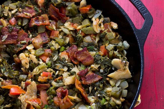 callaloo and saltfish  recipe with images  jamaican