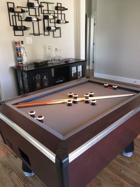 Great American Slate Bumper Pool Table Customer Photos - Pool table rental dallas