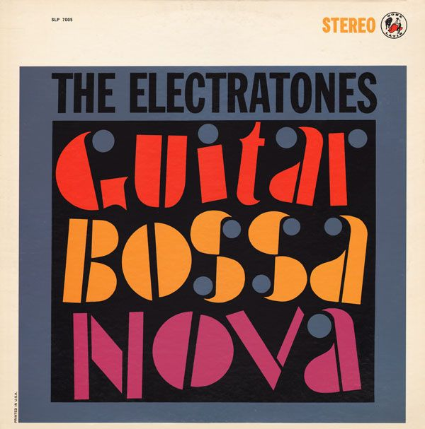 Project Thirty Three Album Cover Art Record Sleeves Bossa Nova