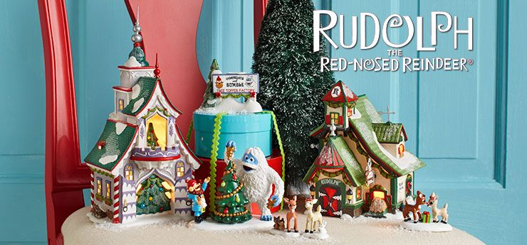 Rudolph Christmas Village.Rudolph Christmas Village Buildings By Department56