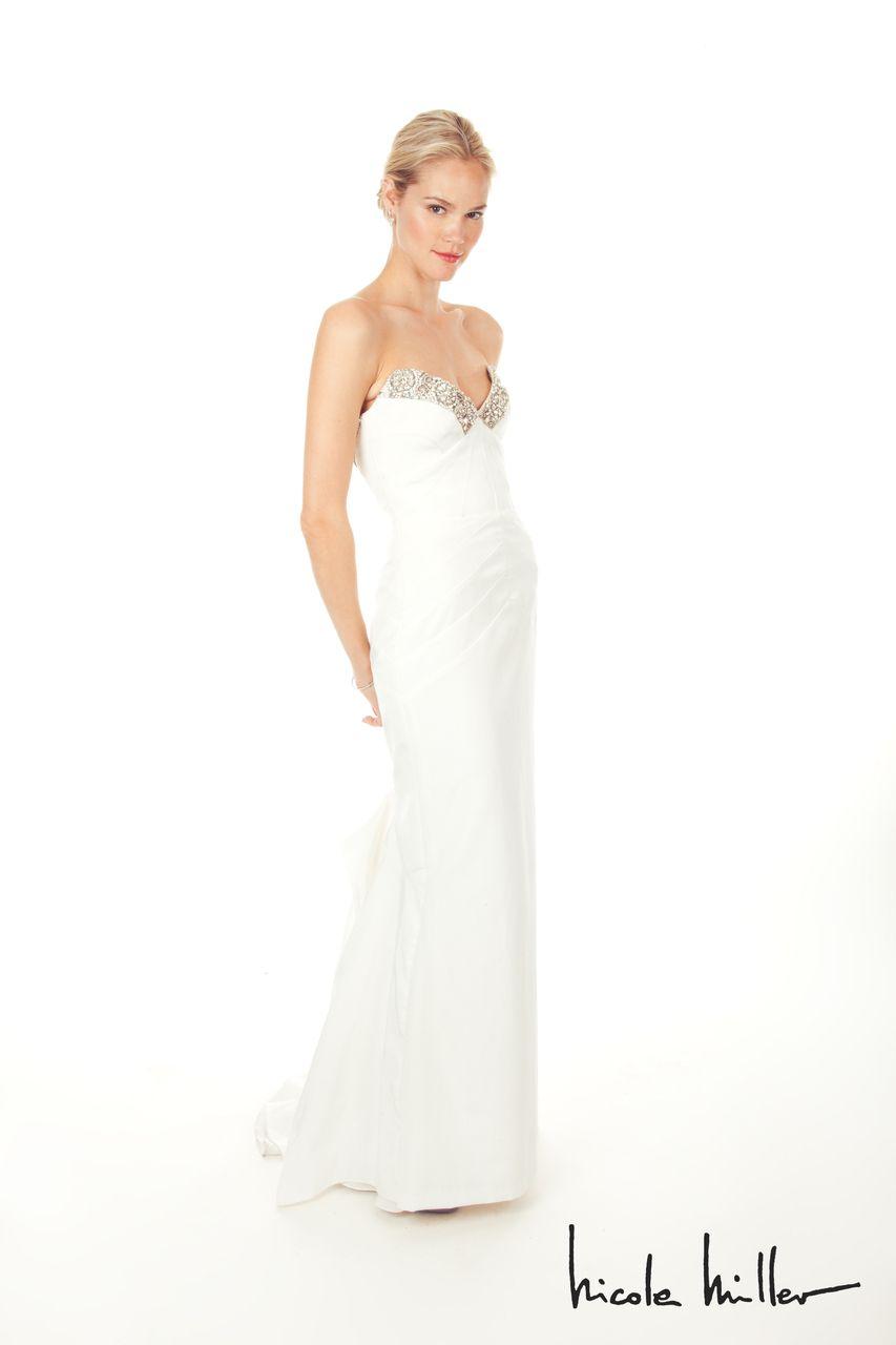 MODELBRIDE - Nicole Miller Georgina Bridal Gown Antique White, $1,900.00 (http://www.modelbride.com/nicole-miller-georgina-bridal-gown-antique-white/)
