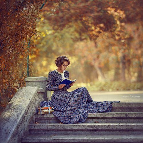 #irina dzhul #vinatge #fall #steampunk #steampunk girl #Victorian Lady #Victorian fashion #victorian #books #library #student #study