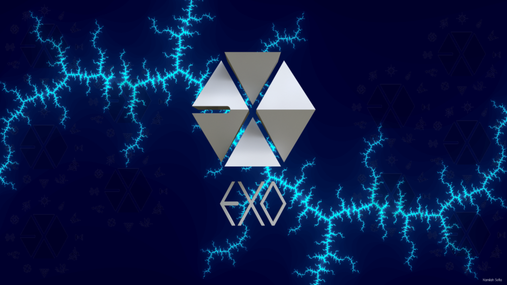 Exo Logo Wallpaper