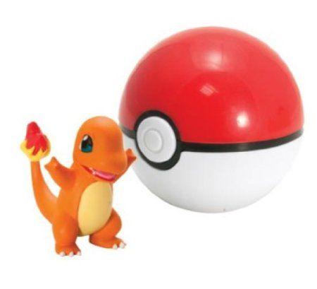 Charmander /& Great Ball Poké Ball Wicked Cool Toys Pokémon Clip /'N/' Go