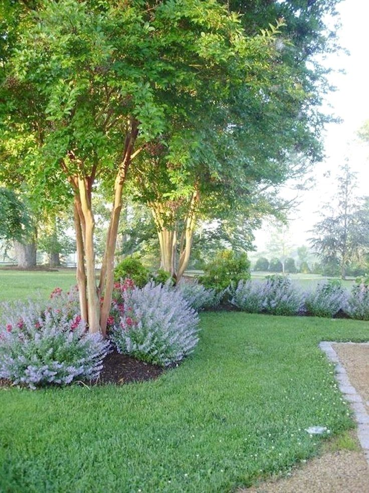 55 Beautiful Backyard Landscaping Along Fence Decoration Ideas Home Garden Landscape Design Creative Landscape Yard Landscaping