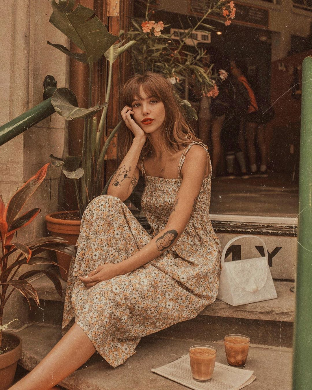"Audrey Rivet on Instagram: ""I wish summer in Montreal would never end... I want to wear all my beautiful @anthropologie dresses until the end of time. — #ad"""