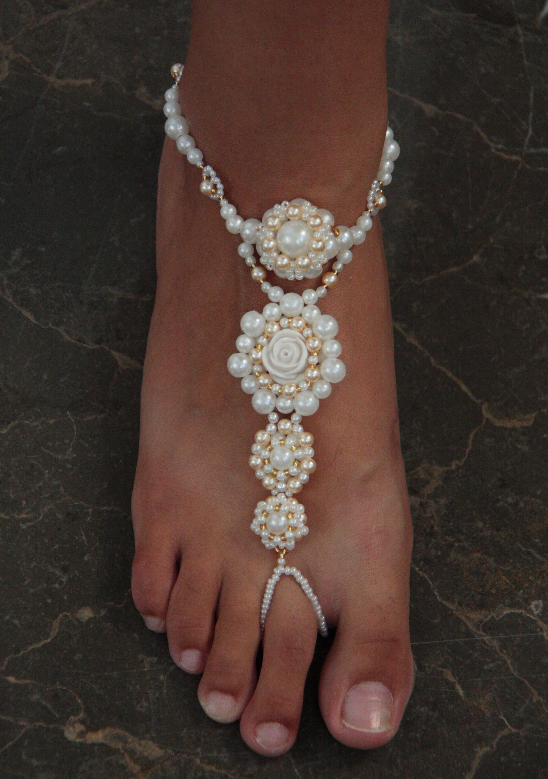 Beaded Barefoot Sandals Foot Jewelry