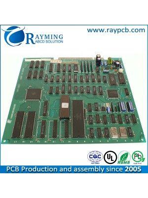 6 Layer Mask Pcb Assembly Manufacturer Pcba With Enig Gold Finger Layer Mask Pcb Design Board Design