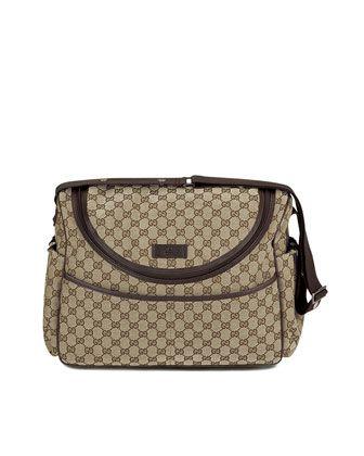 82d1eb0418e6 Diaper+Bag+by+Gucci+at+Neiman+Marcus. $1100.00 | Diaper bags ...