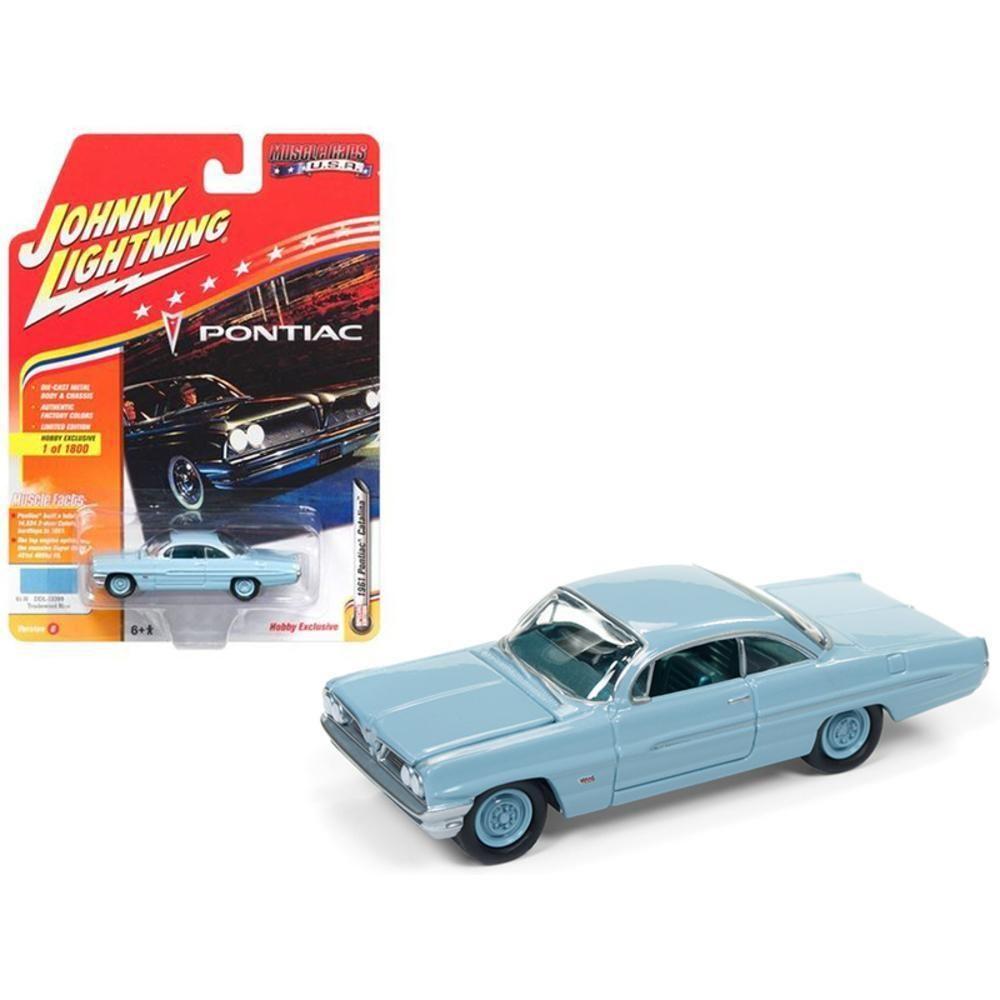 1961 Pontiac Catalina Tradewind Blue Limited Edition to 1800pc ...