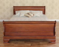 Mahogany Sleigh Bed Regular Footboard B009 In 2020 Bed Sleigh Beds Bed Furniture